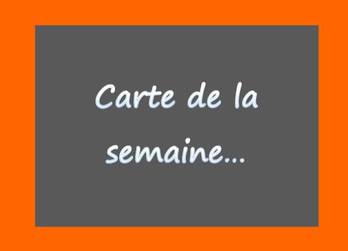 CARTE SEMAINE