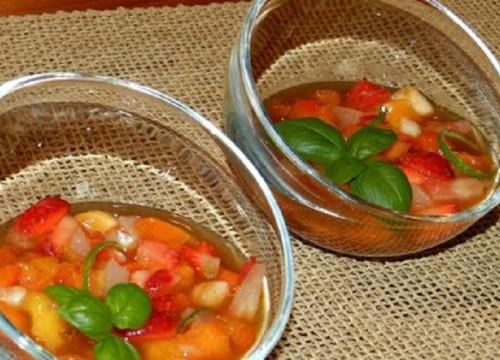 DESSERT FRUITS BASILIC MINESTRONE
