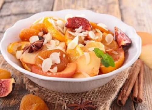 SALADE FRUITS D'HIVER FRUITS SECS