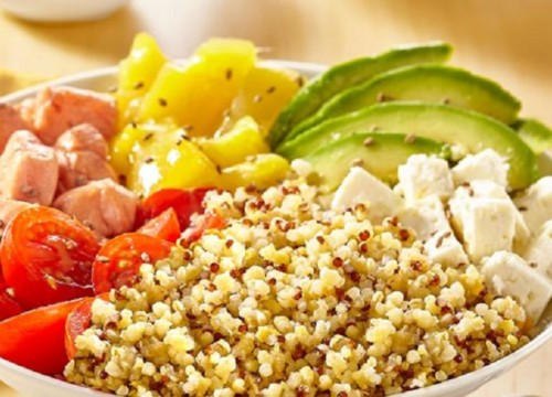 BOWL CEREALES JAMBON FROMAGE LEGUMES